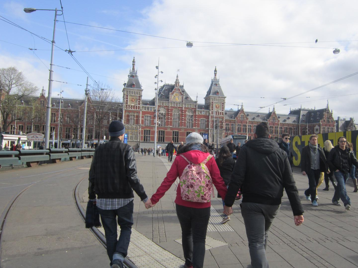 Estación Central, Amsterdam