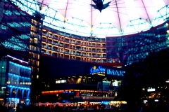 Sony Center, Potsdamer Platz.