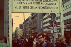 Checkpoint Charlie.