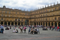 Plaza Mayor, Salamanca.